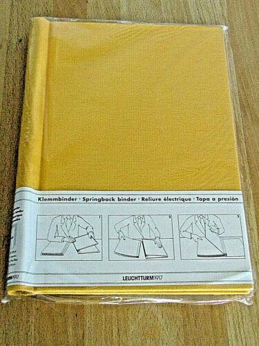 Mds Leuchtturm 1917  Peka Klemmbinder DIN A4 Format Farbe gelb