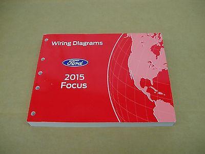 2015 ford focus wiring diagram service shop dealer repair manual  ebay