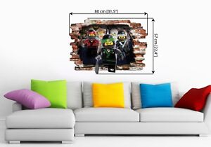Phenomenal Details About Lego Ninjago Wall Stickers Wall Decal Art Decor Vinyl Mural Boys Bedroom 57X80Cm Download Free Architecture Designs Scobabritishbridgeorg