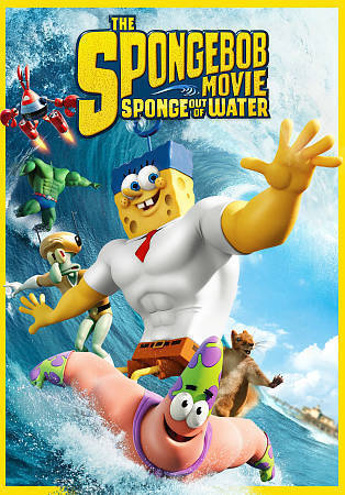 The Spongebob Squarepants Movie Sponge Out Of Water Dvd 2015 For Sale Online Ebay