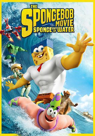 The Spongebob Squarepants Movie Sponge Out Of Water Dvd 2015 For Sale Online Ebay