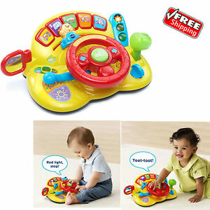 Details About 6 Month To3year Educational Toys Toddlers Baby Kids Boy Girl Learning Wheel Toy