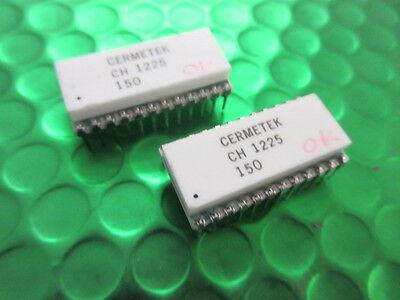 UPD8251AD ORIGINAL NEC USART WHITE CERAMIC GOLD PINS VINTAGE COLLECTABLE IC