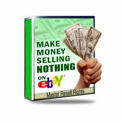 How To Make Money Selling Nothing On Ebay Resell Rights Make Money Online Ebook Ebay