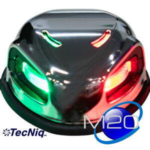 Pactrade Marine Boat Red /& Green Bow LED Navigation Light Waterproof 2 Nautical Miles