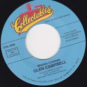 "GLEN CAMPBELL - Wichita Lineman 7"""