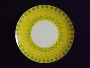 "West Elm Potters Workshop Yellow Bean Salad Plate 9"" EXC"