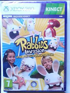 Rabbids Invasion Requiere Kinect Juego Para Xbox 360 Pal Esp Nuevo