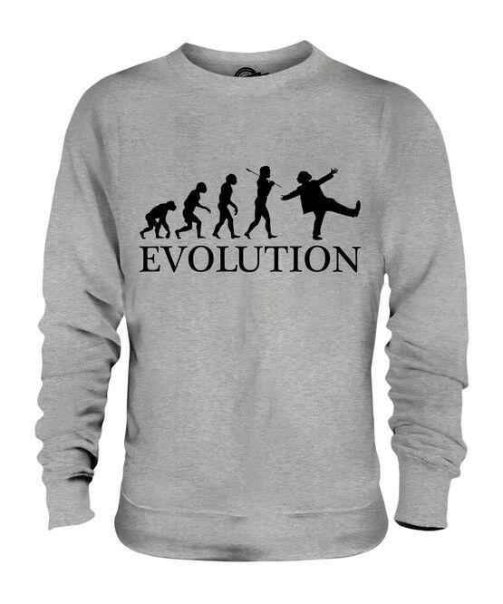 CLOWN EVOLUTION DES MENSCHEN UNISEX SWEATER PULLOVER PULLOVER PULLOVER PULLI HERREN DAMEN  | Hohe Qualität  | Feinbearbeitung  | Fuxin  191413