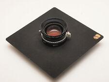 Schneider Linhof Symmar-S 150mm F5.6 Lens & Kardan Master Plate Stock No u5117