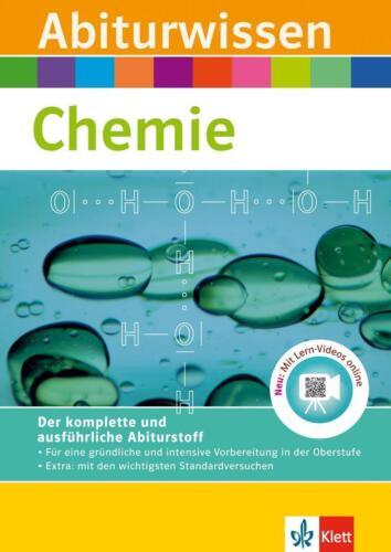1 von 1 - Abiturwissen Chemie von Werner Schierle, Axel Justus und Paul Gietz (2011, Tasc…