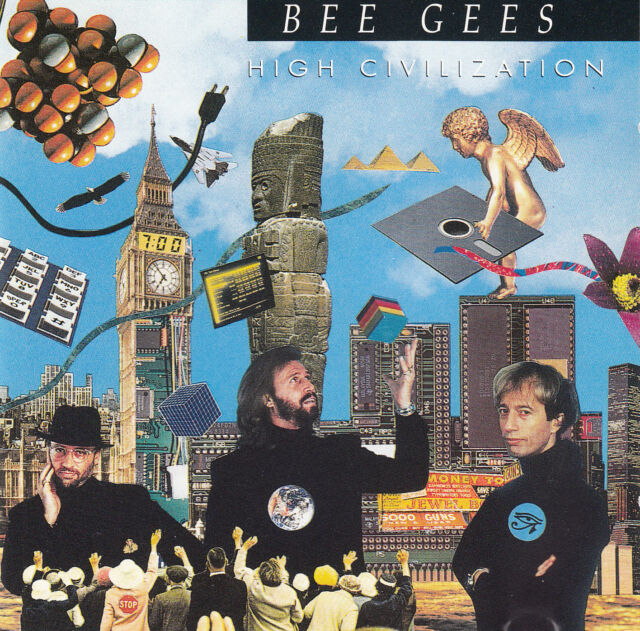 BEE GEES : HIGH CIVILIZATION / CD - TOP-ZUSTAND
