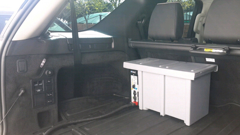 Land Rover Discovery 5 dual battery system