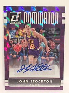 2016-17-Donruss-John-Stockton-Dominator-Signature-Autograph-Card-NBA-Utah-Jazz