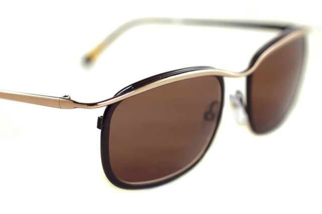 938eaf6fc2432 TOM FORD MARCELLO TF419 50J Mens Round Metal AVIATOR Sunglasses BLACK GOLD  BROWN