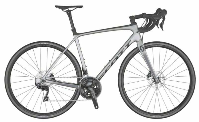 Road Bikes Cape Town - Scott Addict 20 Carbon Bike, Disc Brake - Brand New
