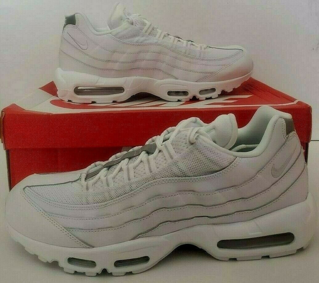 New NIKE AIR MAX 95 bianca PURE  PLAT9865 100 MENS 14 DS RUNNING ATHLETIC  per poco costoso