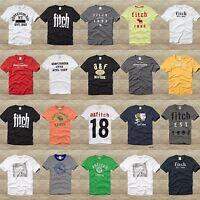 Abercrombie Kids Boys Tee Shirt Sizes S, M, L, Xl Red,gray,blue,white, Green