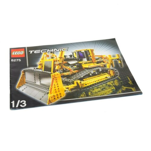 1 x lego Technic receta a4 cuaderno 1 Model construction excavadora planierraup