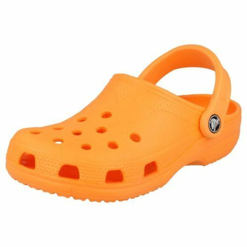 CROCS Beach Neon Orange Slip MB3) On Clog XS (R42B MB3) Slip d3ccef