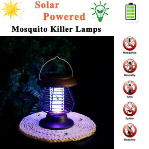 . Insect Killer with LED Camping Lantern Tent Lamp Mystery Mosquito Bug Zapper