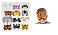 Animal Masks 12 Count, Fun Foam Animal Masks For Young Children's Costume Party