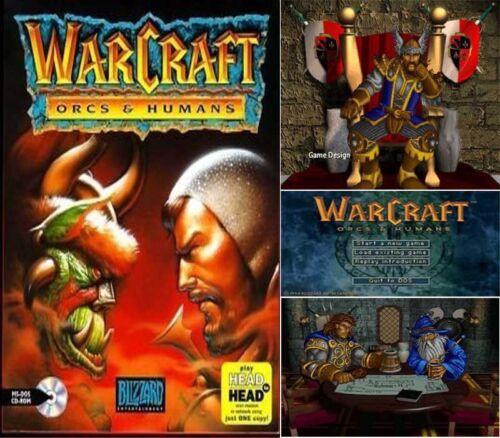 1 von 1 - WARCRAFT 1 - Orcs & Humans PC DOS CD Rarität SOFORT