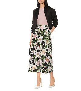 945-Dolce-amp-Gabbana-Lily-Print-Hi-Rise-Cotton-Wide-Cropped-Culotte-Trousers-44
