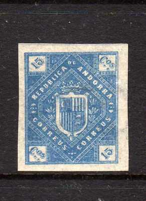 Europe Stamps Earnest Republica De Andorra 1895 Local Bogus Phantom Stamp,andorre,listed In Melville Quality First