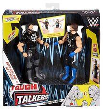 WWE Tough Talkers Seth Rollins & AJ Styles Figure 2 Pack