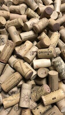 Clean No Synthetic Sorted Bag of 100 USED Natural Cork Wine Bottle Corks