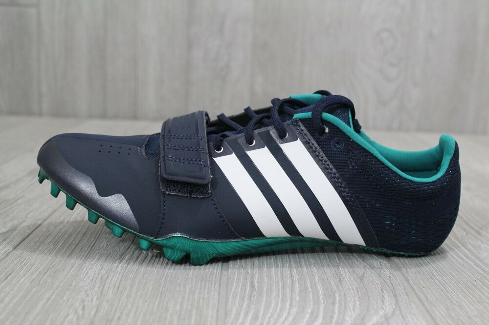 26 New homme Adidas Bleu blanc fonctionnement Adizero Accelerator Spikes S78629 8.5-12.5