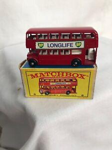 Vintage-Matchbox-Series-5-London-Bus-W-Box