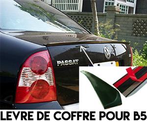 Prudent Levre Coffre Spoiler Aileron Becquet Lame Pour Vw Passat B5 B5.5 97-05 W8 V6 Vr5