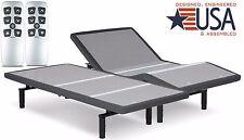 SPLIT KING FALCON 2.0 PLUS ADJUSTABLE BED BY LEGGETT & PLATT W/ WIRELESS REMOTE