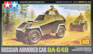 Tamiya 1/48 Russian Armored Car BA-64B # 32576