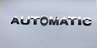 Chrome 3D FULL METAL Self-adhesive Car Letters badge emblem sticker Spelling GT