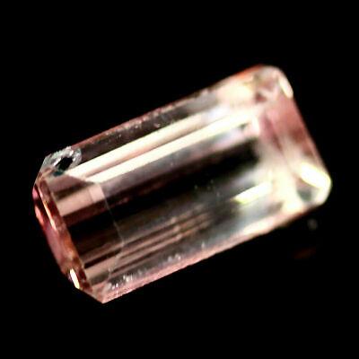 Top Pink Tourmaline : 1,10 Ct Natürliche Rosa Turmalin Aus Brasilien