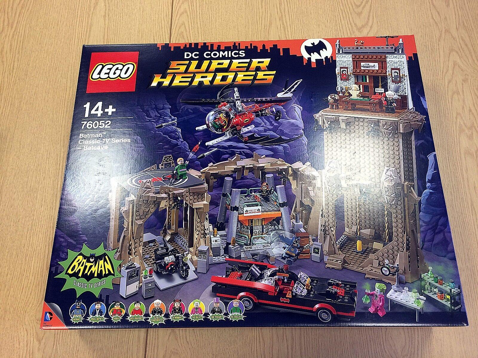 LEGO DC Super Heroes 76052 BATMAN CLASSIC TV SERIES-une Batcave   Nouveau & Non ouvert