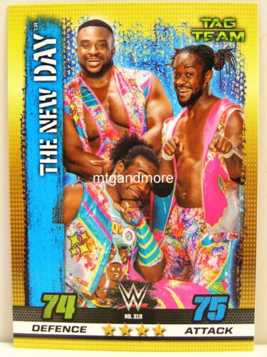 Slam Attax 10th Edition #318 the new day