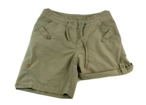 Merrell Womens Size 4 Bermuda Shorts Beige Tan Adjustable Length Small