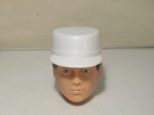 """Nouveau Gi Joe White astronaute Chapeau Pour 12/"""" Action Figure accessoire Talking GI Joe"""
