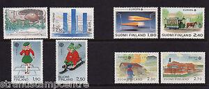 Finland - Europa - U/M - 1987 + 1988 + 1989 + 1990 'Bundle'