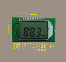 FM Transmitter Module PLL Digital LCD Wireless Microphone Stereo Radio 87-108MHZ