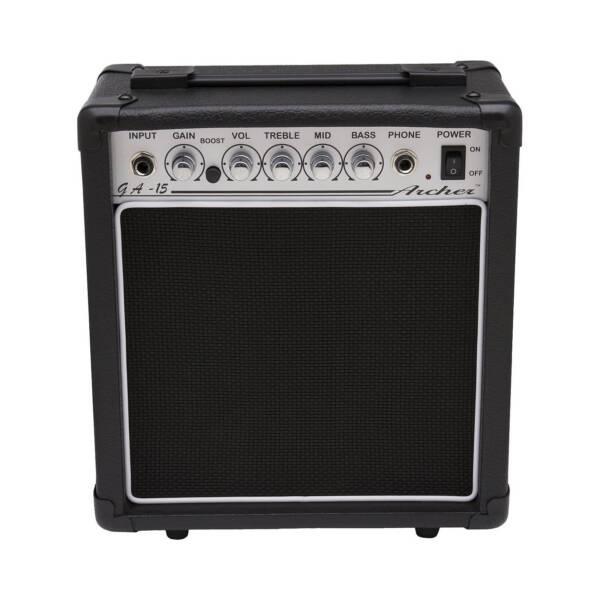 Electric Guitar Amp Online : archer ga 15 ga15 10 watt electric guitar amplifier amp for sale online ebay ~ Russianpoet.info Haus und Dekorationen
