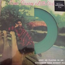NINA SIMONE - LITTLE GIRL BLUE - LP -REISSUE ON GREEN 180 G VINYL - NEW + SEALED