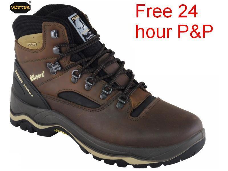 grisport Quatro-Damas botas suelas Vibram-Impermeable Caminar   más orden