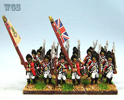 15mm American War of Independence WGS painted  British Infantry AWB10