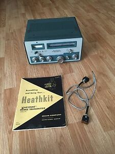 heathkit mt 1 cheyenne ham radio transmitter with cable and manual rh ebay com Heath Ham Radio Kenwood Ham Radio Equipment