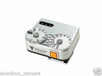 Brand New Unused Voigtlander VC Meter II 2 Silver Light Meter Cosina